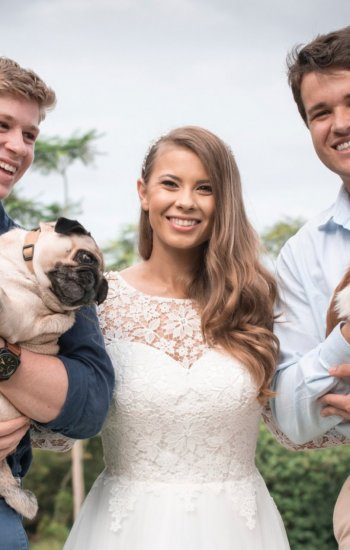Bindi Irwin Wedding Dress - Paddington Weddings Paddington Weddings Brisbane