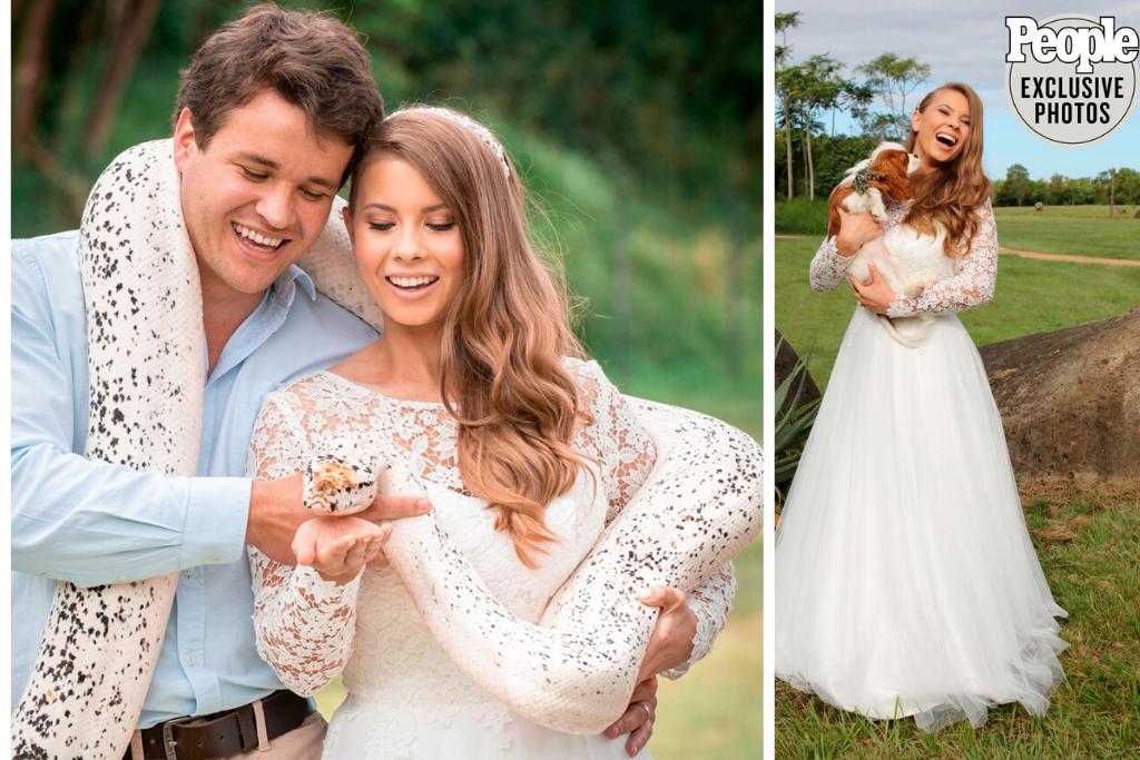 Wedding Dresses | Wedding Accessories | Brisbane | Padding Wedding | Bindi Irwin Wedding 8 1