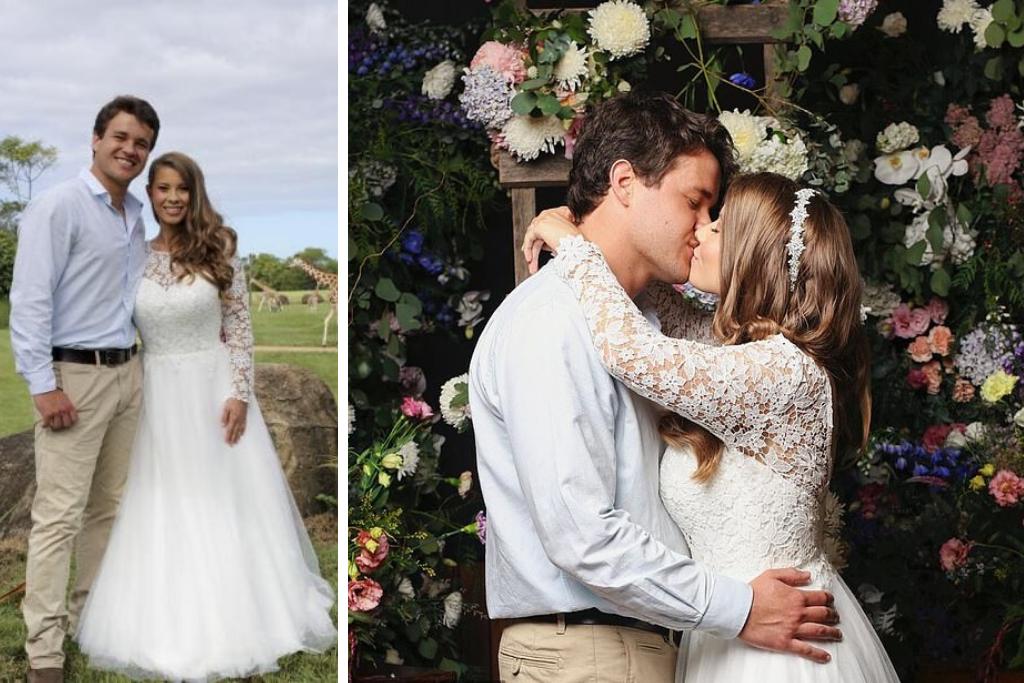 Wedding Dresses | Wedding Accessories | Brisbane | Padding Wedding | Bindi Irwin Wedding 2 1